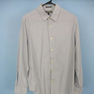 Used Express Long Sleeve Button Down Dress Shirt